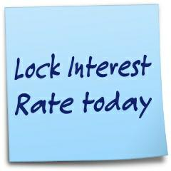 Locking a mortgage interest rate