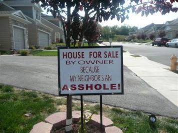 Disclosing neighborhood issues