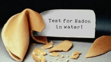 Radon water testing