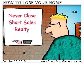 Short Sale Realtor Mistakes