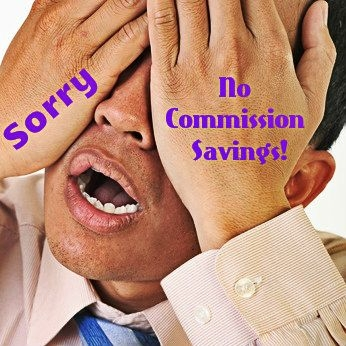 No Commission Savings