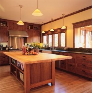 Hardwood Floors In The Kitchen