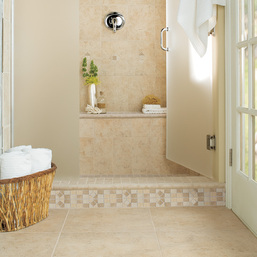 Bathroom flooring choices