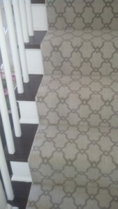 Flooring on stairs