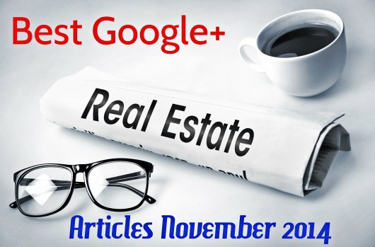 Best Google+ Real Estate Articles November 2014