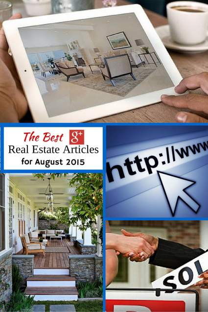Best Google + Real Estate Articles Aug 15