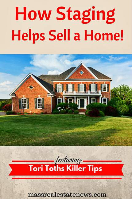 Staging Helps Sell a Home