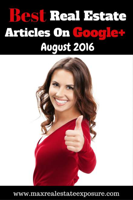 Best Google+ Real Estate August 2016
