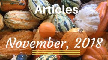 Best Real Estate Articles November 2018