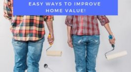 Easy Ways to Improve Home Value