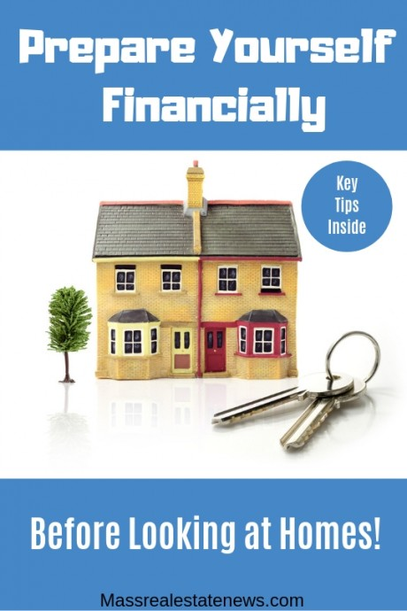 Prepare Financially Before Looking at Homes