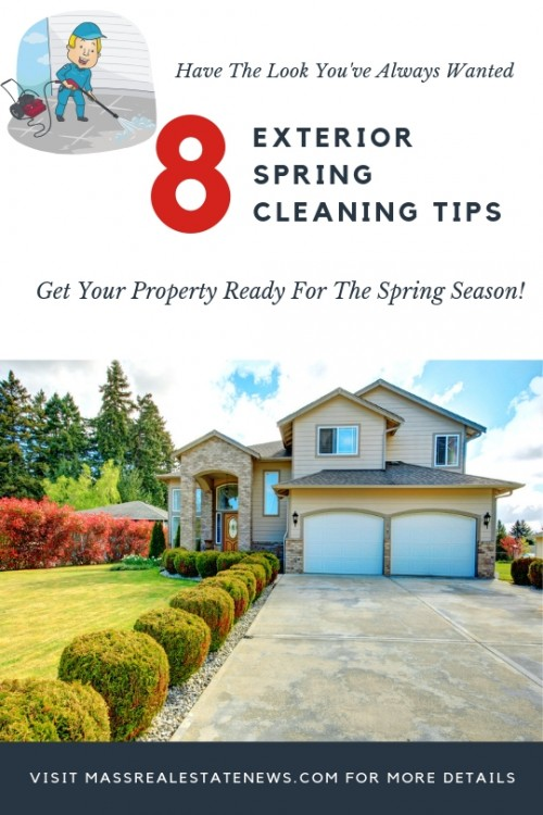 Exterior Spring Cleaning Tips