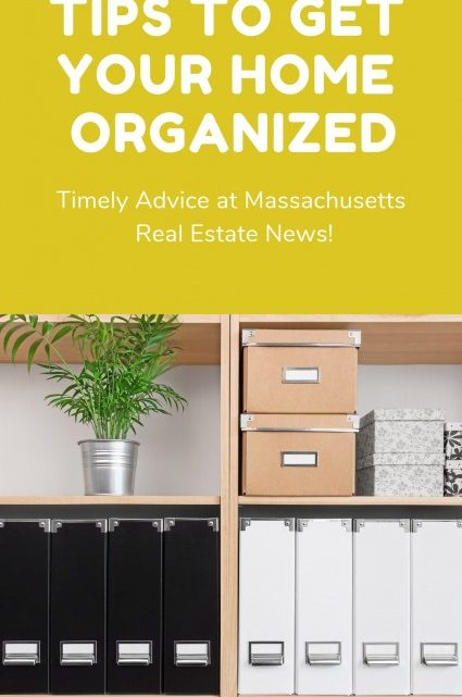 Tips to get your home organized