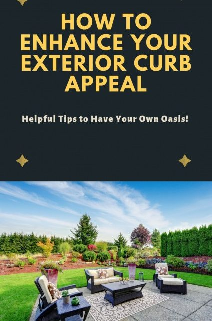 How to Enhance Your Curb Appeal