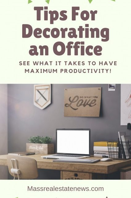Tips For Decorating an Office