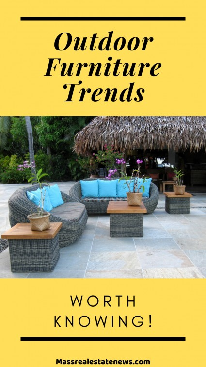 Outdoor Furniture Trends to Keep an Eye Out For