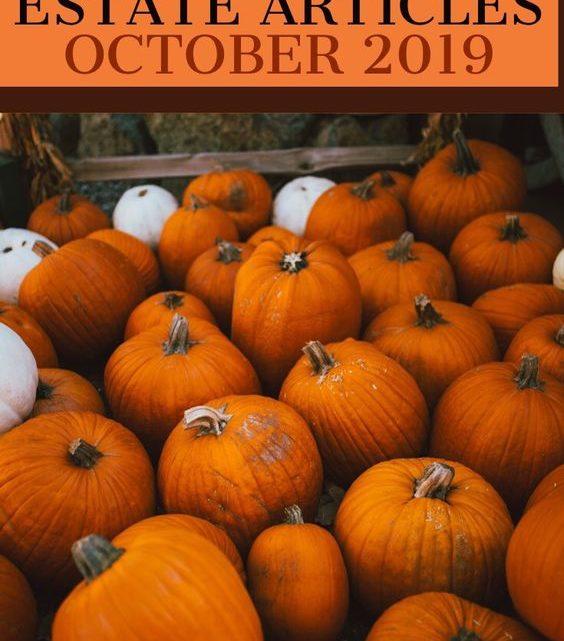 Best Real Estate Articles October 2019