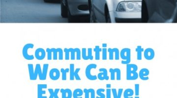 Commuting to Work Can Be Expensive