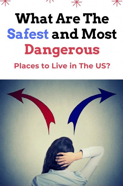 What Are The Safest and Most Dangerous Places to Live in Us