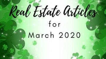 Best Real Estate Articles March 2020