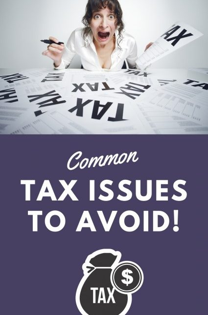 Common Tax Issues