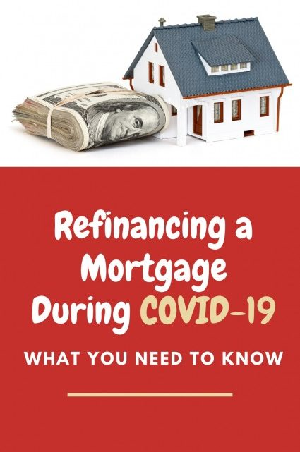 Refinancing a Mortgage