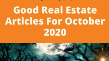 Best Real Estate Articles October 2020