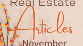 Top Real Estate Articles November 2020