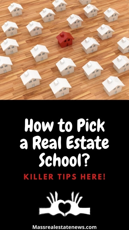 How to Pick a Real Estate School