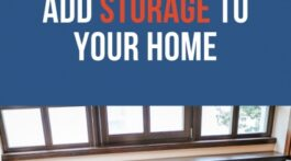 Ways to Add Storage to Your Home