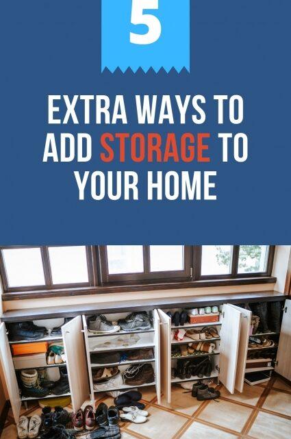 Ways to Add Storage to Your Home