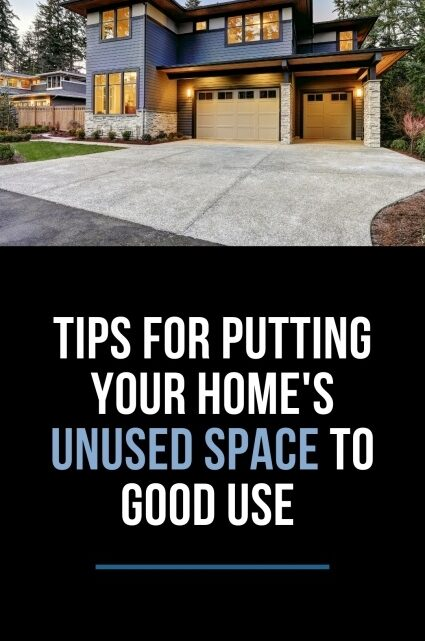 Tips For Using Unused Space in Your Home